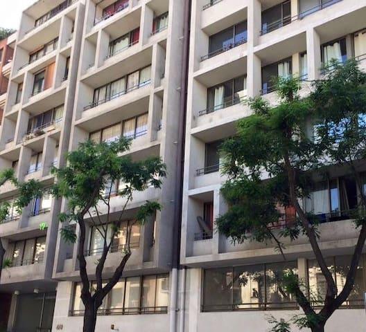 Departamento en lugares atractivos de Santiago