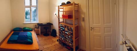 Charming room w/ free parking nearby