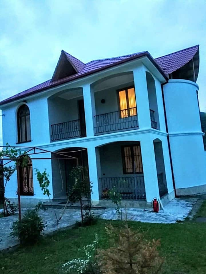 For sale own house in Georgia, resort Bulachauri