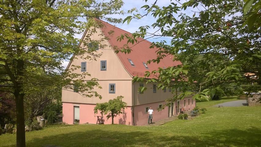 Stadtgut Wehlen, FeWo für max. 3 Personen - Stadt Wehlen - Apartment