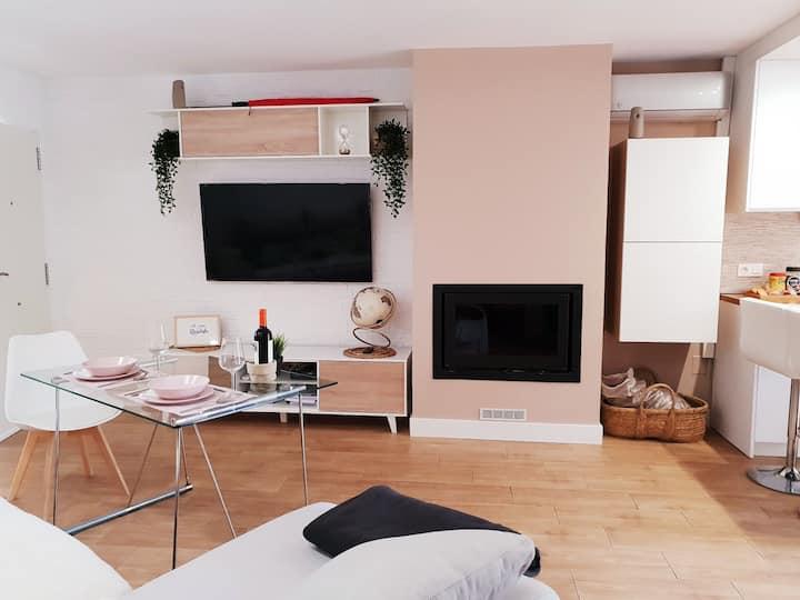Casa con encato, paz y tranquilida, WIFI , smartTV