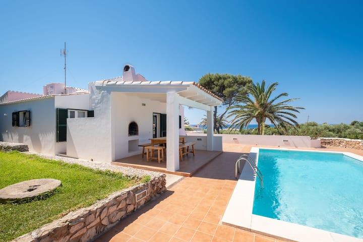 With pool and sea view - Villa Los Arcos