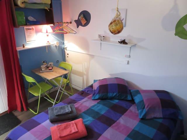 Chambre Bleu - locationchambreroyan.wordpress.com