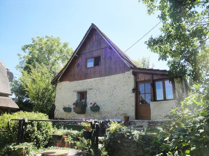 Le Revendeur charming cottage with private hottub!