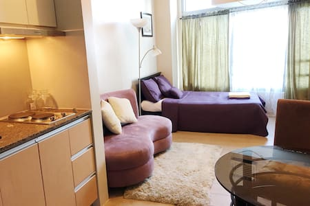 New & Cozy unit atEastwood LeGrand3 - Quezon City