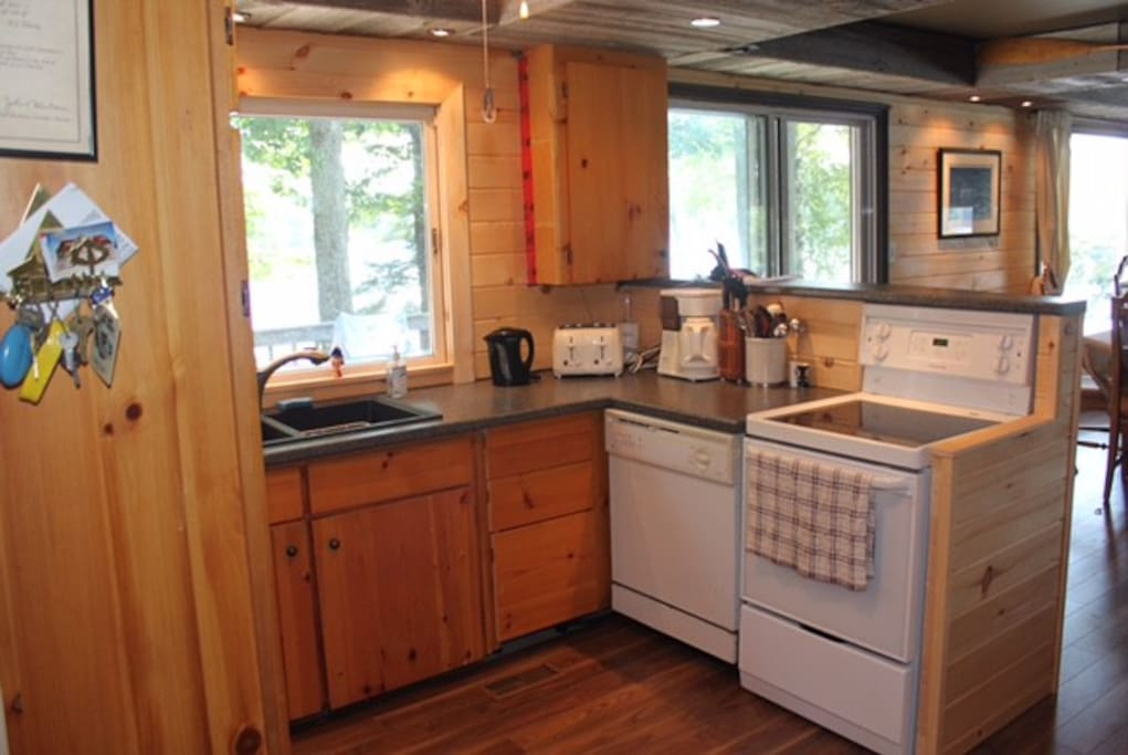 Kitchen with all the conveniences