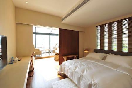 舟人水宿海景套房含客厅