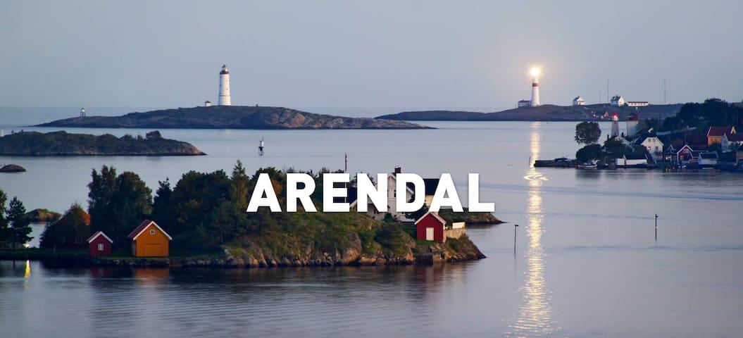 Sørlandssommer m/strandlinje Arendal - Arendal - Rumah