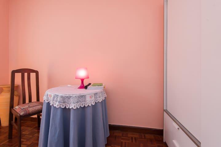 Habitación con llave tranquila,exterio, WIFi-METRO - Bilbao - Flat