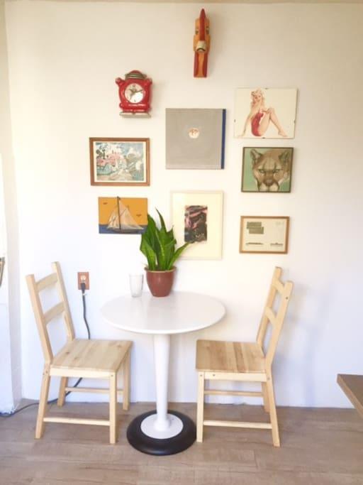 Kitchen art collection