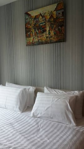 Double Pillows in each bedroom