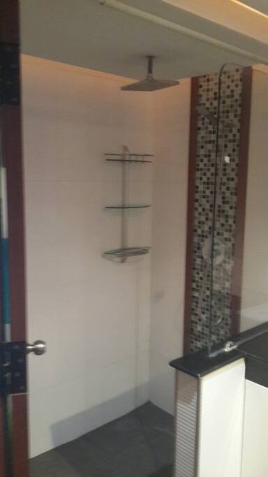 Snap shot of shower area in the bath room