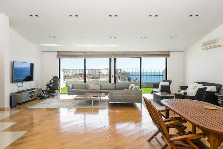 450 SQM, SEA VİEW PENTHOUSE DUBLEX FLAT