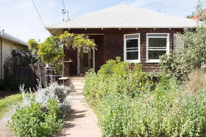 North Berkeley sunny and leafy room - Berkeley - Rumah
