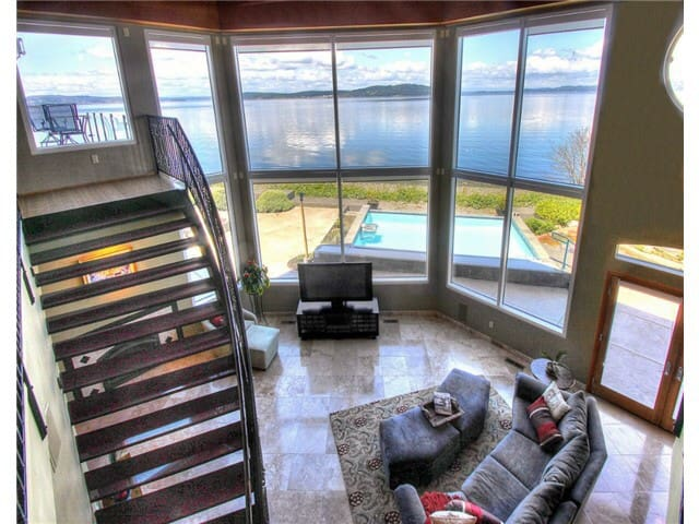 US Open Chambers Bay Waterfront Hom - Steilacoom - Casa