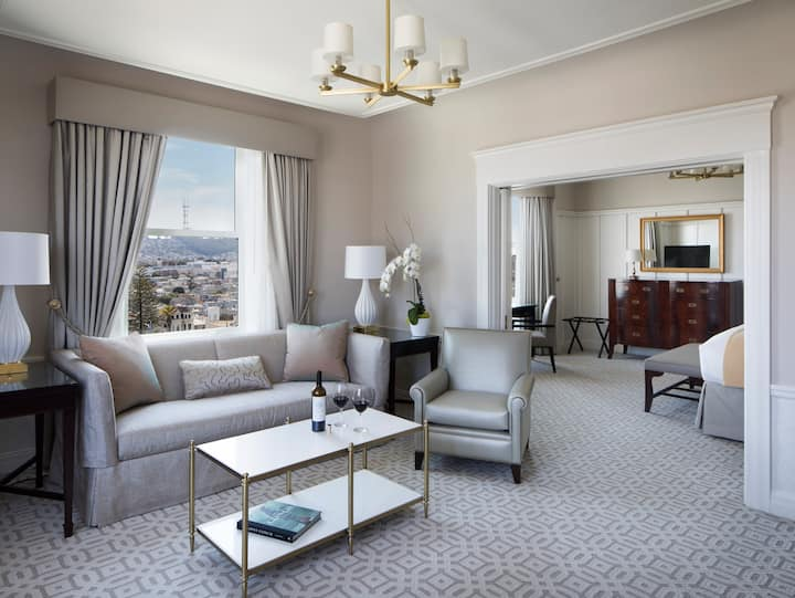 Hotel Drisco, City View Suite, One King Bed