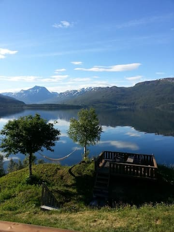 Beachfront, 1 bedroom bungalow - Narvik - Bungalov