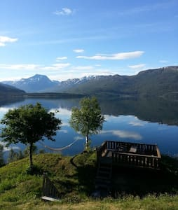 Beachfront, 1 bedroom bungalow - Narvik
