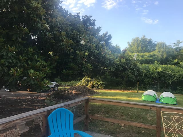 Backyard Camping Or RV parking-outside space only