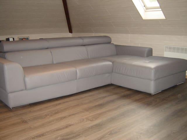 Nice loft syle room in Zellik BXL - Asse - Loft