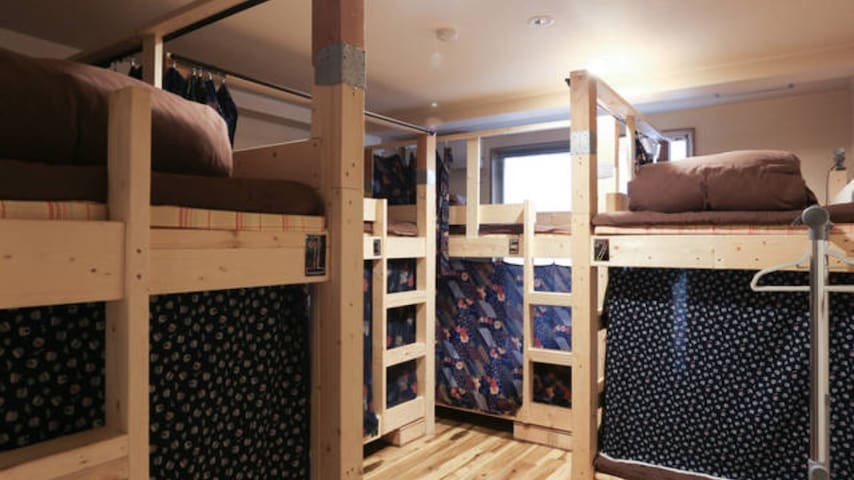 Mix dormitory room 8beds - Kyoto - Bed & Breakfast