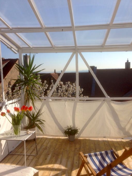 Your private roof top terrace!