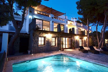 Wonderful sea view guest apartment,  private pool