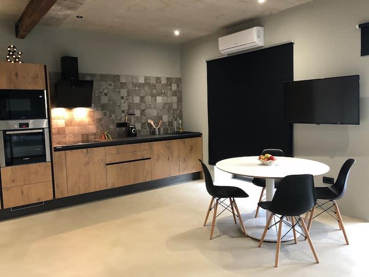 A brand new modern apartment