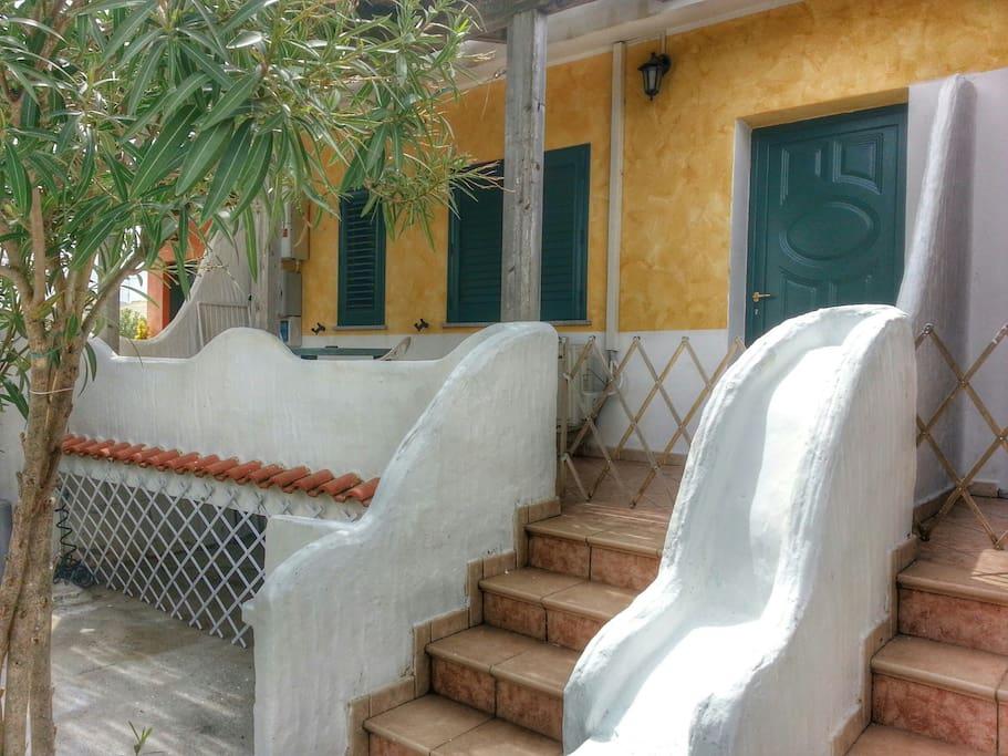 beautiful villas in porto pino