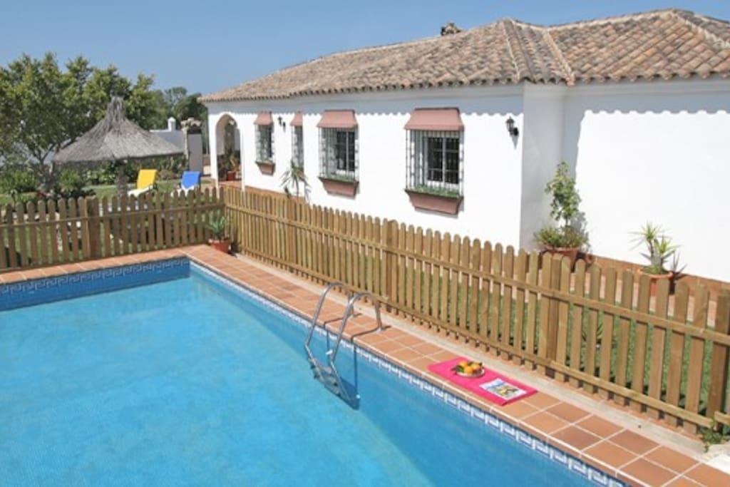 Las piedras casa 3 dormitorios piscina privada casas en alquiler en vejer de la frontera - Alquiler casa vejer de la frontera ...