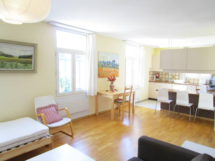 City center St. Gallen, 2.5-Room Apartment, quiet