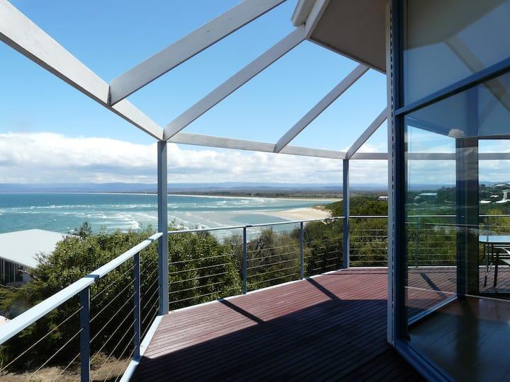 Waterline ~ Ocean views & open plan living.