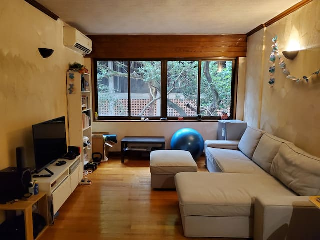 Large 1 Bed Apartment in mid-levels HK