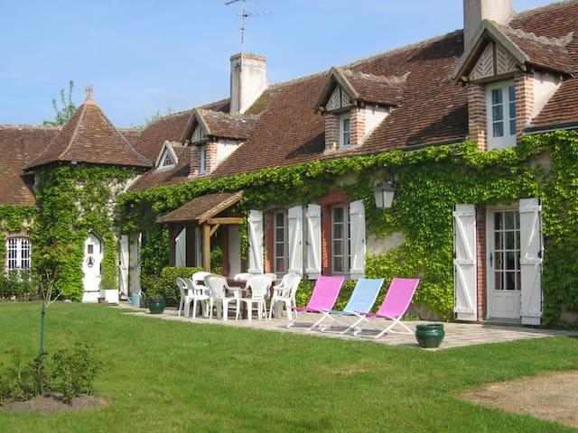 Longère proche zoo de Beauval - Chabris - Maison