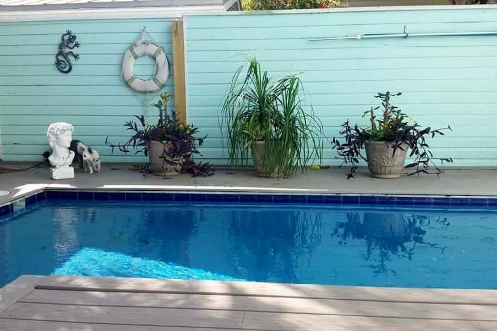 My private pool.