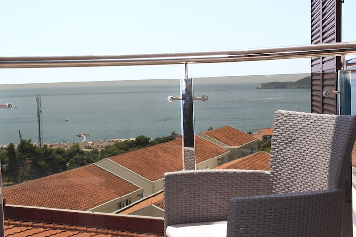 Anatolia Becici  1 bedroom Apt Sea view with pool