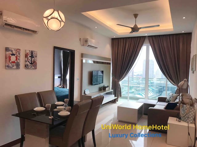 Relaxing Holiday HomeHotel JB Central Custom 4 pax