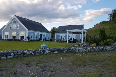 Waterfront Guest House near St. Andrews, NB.