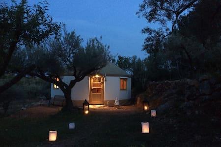 Yurta Mongola Delta Ebro - Camarles - Jurte