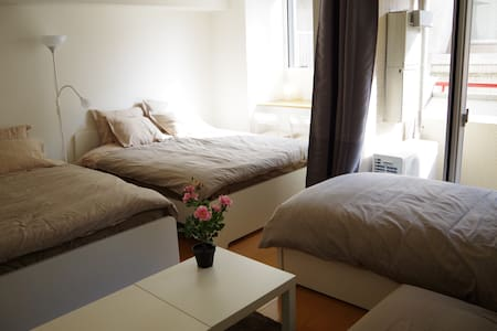 5mins from Ginza station cozy 1R - Apartament