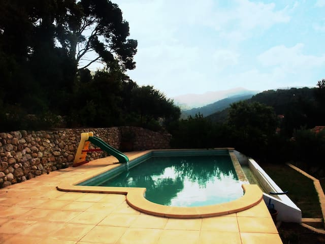 Beautiful house with infinity pool - Gémenos - Vila