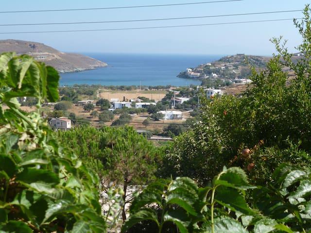 View from veranda of Gulf of Otzia