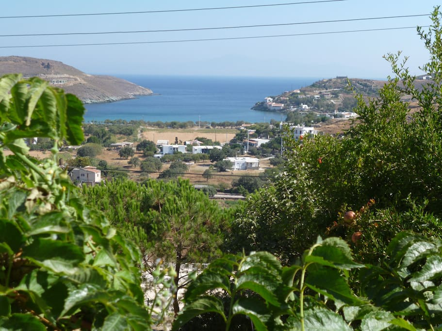 View from veranda of Gulf of Otzia