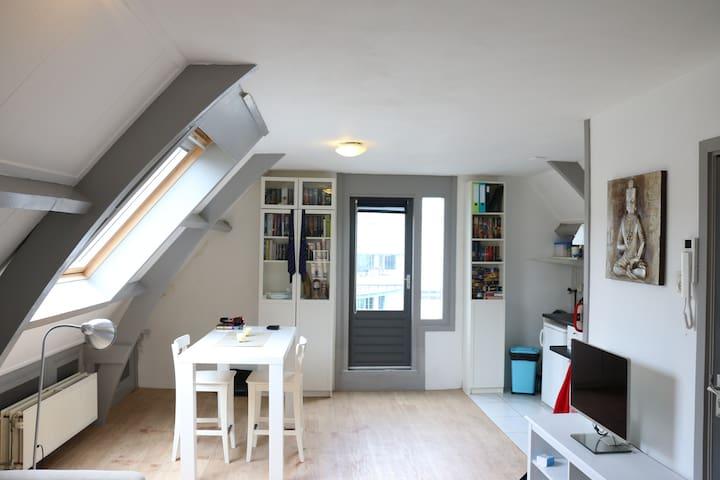 Loft apartment in center of Haarlem - Haarlem - Huoneisto