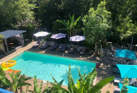 Studio N2 rdc côté piscine