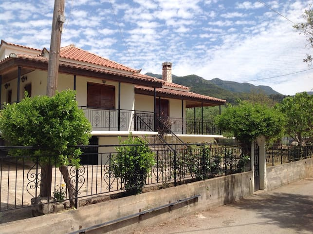Village home with amazing mountain views !!