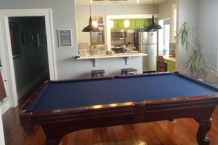 The Private Pool Hall
