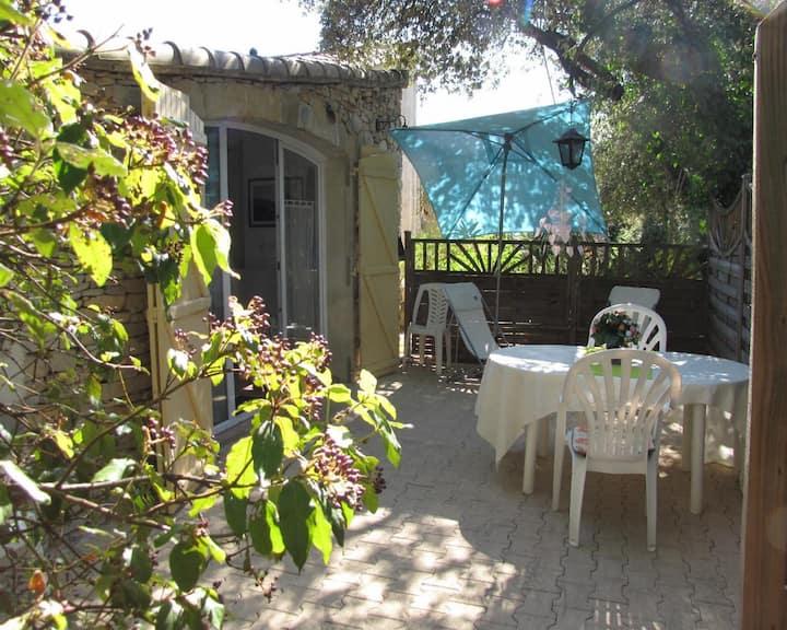 Gîte 2 pers dans une propriété méditerranéenne