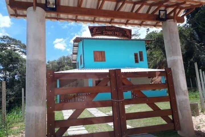 Casa em Carolina - distrito de Matilde/ A. Chaves