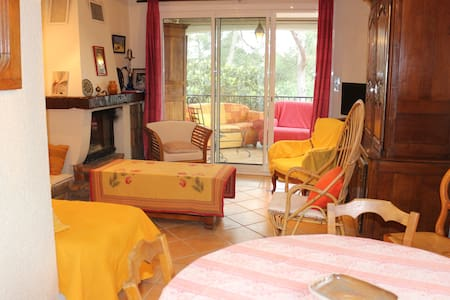 très bel appartement de 80 m2 T3 dans villa - Bouc-Bel-Air - Apartament